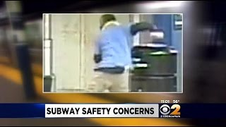 Search Is On For Suspect In Subway Shove