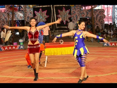 GREAT BOMBAY CIRCUS Aurangabad Camp Advertisement made by Aftab Films Aurangabad