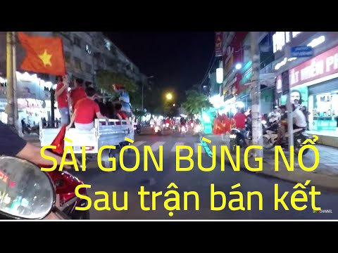 Sài Gòn ăn mừng chiến thắng của Tuyển Việt Nam | BKB Channel