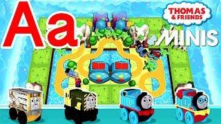 Aa — Thomas ve Arkadaşları Mini ile Öğrenmek Akk Kendi mektup 'Senin'Bir'' Tren yolu İnşa Verilmiştir.
