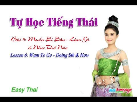 Giáo trình Thai for beginners bài 6