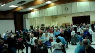 Square Dance in Golden, Colorado at May Madness 2012 with Tom Roper square dance callerVIDEO0272.3gp