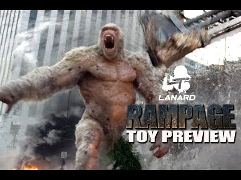 Toy Fair 2018 Rampage Movie Toy Preview Youtube