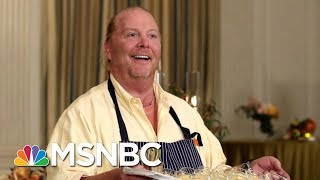 Celebrity Chef Mario Batali Accused Of Sexual Misconduct | Velshi & Ruhle | MSNBC Free HD Video