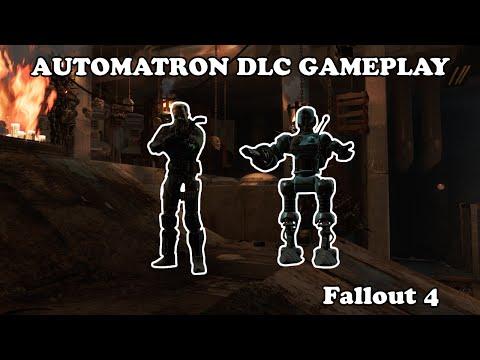 Fallout 4 Automatron DLC  - Initial Gameplay |