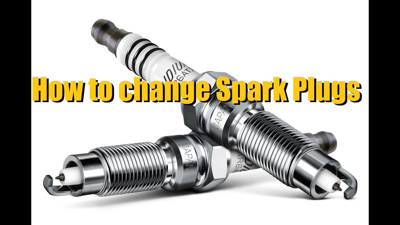 how to make a spark plug spark