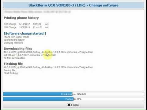 How to Repair Blackberry Q10 SQN 100-3