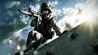 Battlefield 3 - Rock And A Hard Place Campaign Mission Gameplay (Hard)