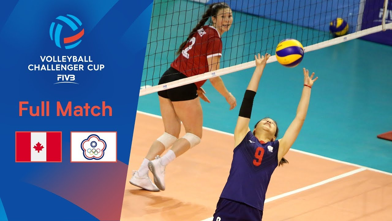 CANADA vs CHINESE TAIPEI | Full Match | 2019 FIVB Women's Volleyball Challenger Cup