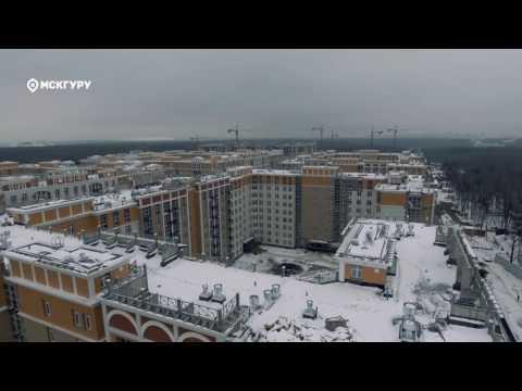 ЖК «Рассказово» — аэросъемка МСКГуру. Ноябрь 2016.