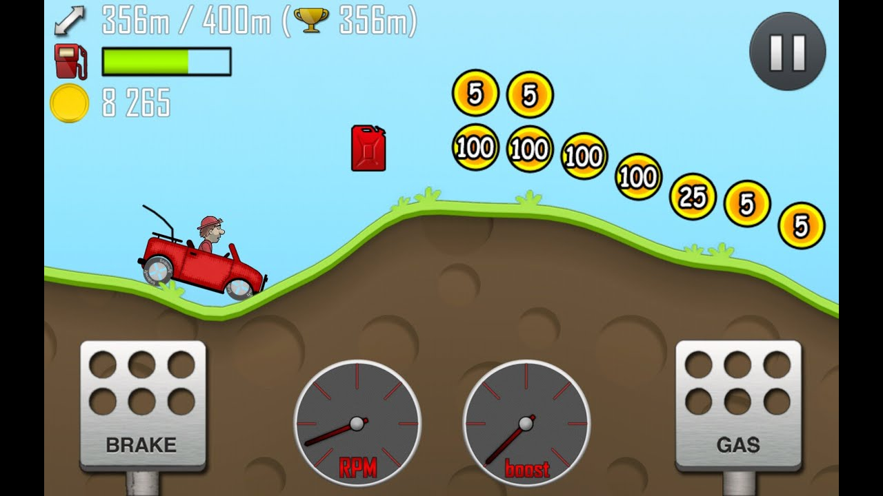 cars hill cli slow and steady win race android game play youtube