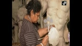 India News (18 Sep, 2018) - Woman sculptor setting example of empowerment in eastern Kolkata city