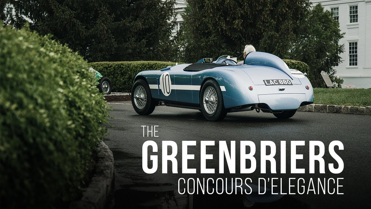 Redline Restorations' Recap of The Greenbrier Concours d'Elegance 2019