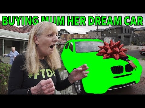 I just surprised my Mum with her DREAM CAR...... Her reaction is priceless - TheUYWay Vlog 12