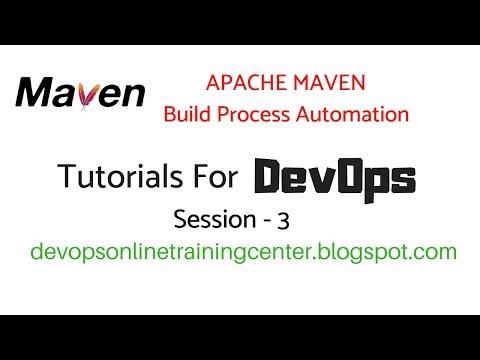 Maven Tutorials For Beginners | DevOps In Apache Maven Repository 3
