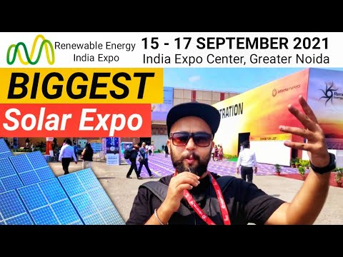 REI , Renewable energy India  EXPO Sep19,Noida, innovative Products, Part 2