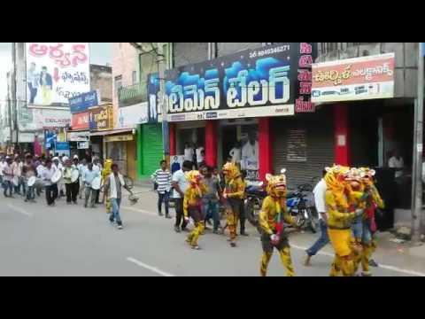 BHAGATHSINGH YUVASENA,WEEKLY BAZAR JAGTIAL.(2016)