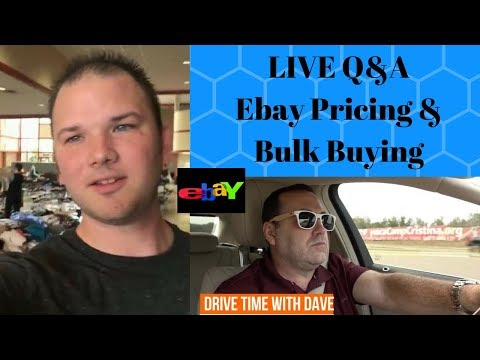 Ebay Inventory Pricing LIVE!! How to Correctly Determine Value