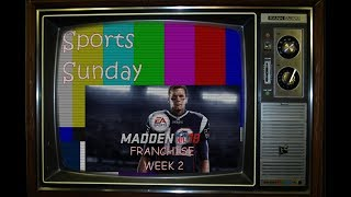 Sports Sunday: Madden NFL 18 Full Game Week 2 Cardinals @ Colts (PS4)
