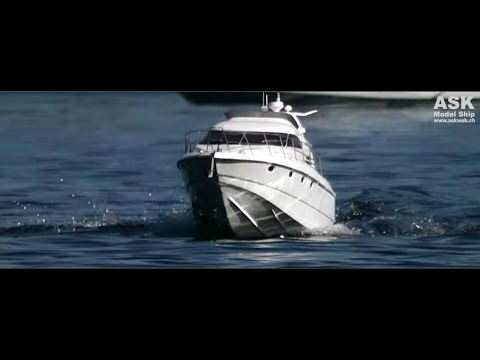 "RC Boat - Sunseeker Manhattan 46 ""Najade"" - Yacht"