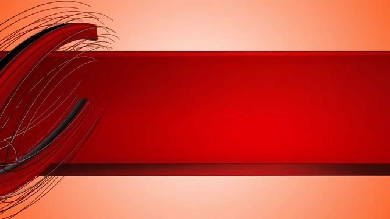 4k uhd playing 3d strings red title design screen youtube - Title wallpaper ...