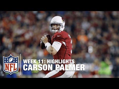 Carson Palmer Highlights (Week 11) | Bengals vs. Cardinals | NFL