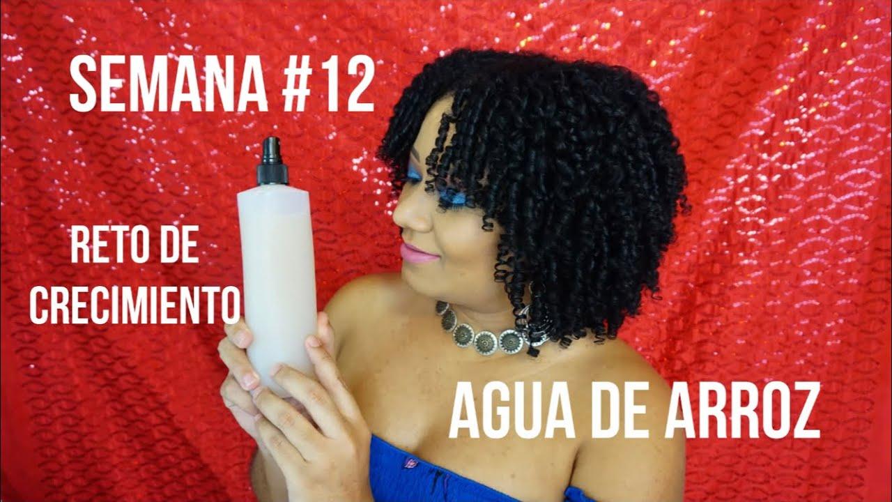 Prepoo  Con Agua De Arroz Para El Crecimiento Del Cabello /Reto de Crecimiento/