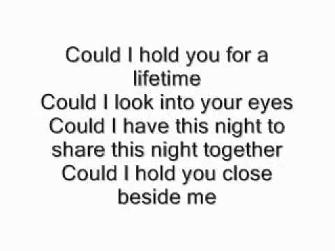 Enrique Iglesias   Could I have this kiss forever lyrics   YouTube