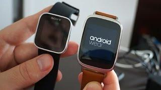 Распаковка умных часов Asus Zenwatch