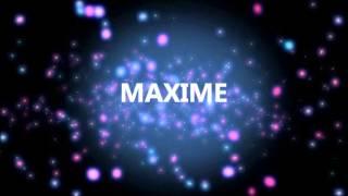 HAPPY BIRTHDAY MAXIME!