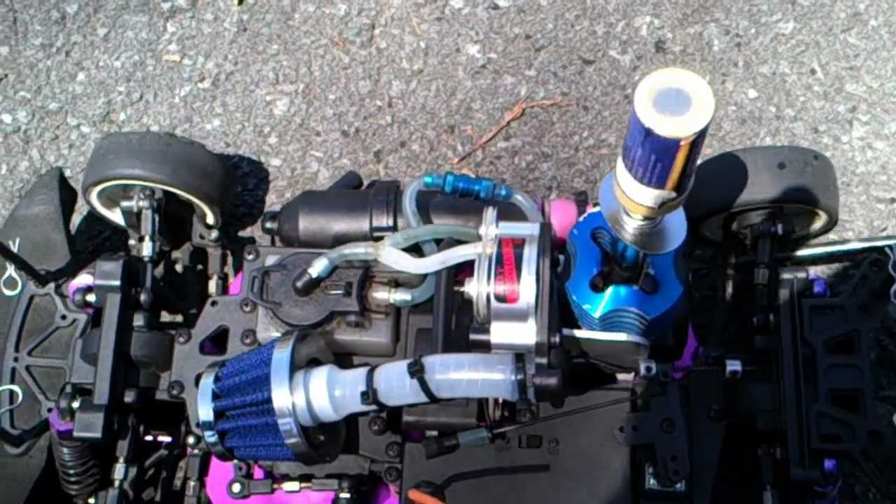 Rc Nitro Supercharger Redcat Sonic Scale Part Youtube