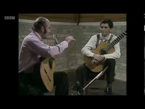 Julian Bream Masterclass 1978: J.S.Bach Fugue in A minor