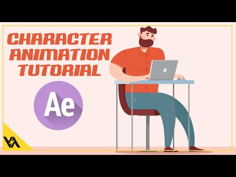 Full Character Animation in After Effects ( NO PLUGIN )