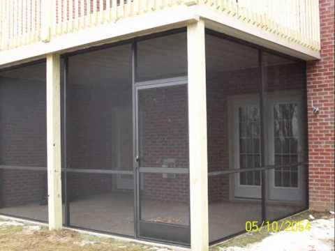 A 1 Aluminum Screen Rooms Youtube
