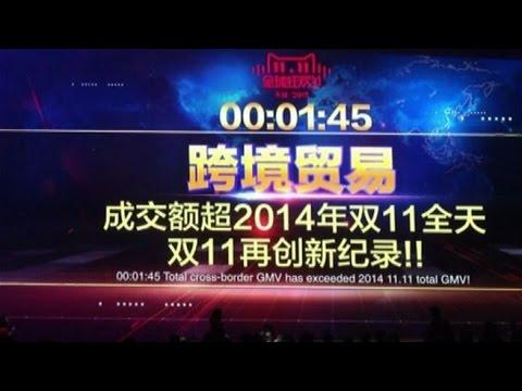 """Record di vendite per Alibaba in Cina nel """"Single Day"""""""