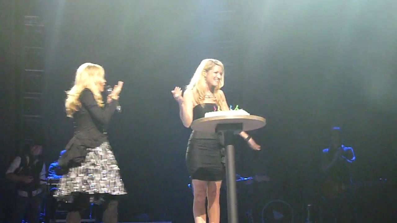 Carrie Underwood Sings Happy Birthday To Her Backup Singer