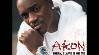 Akon - Sorry, Blame It On Me (lyrics in description) HD