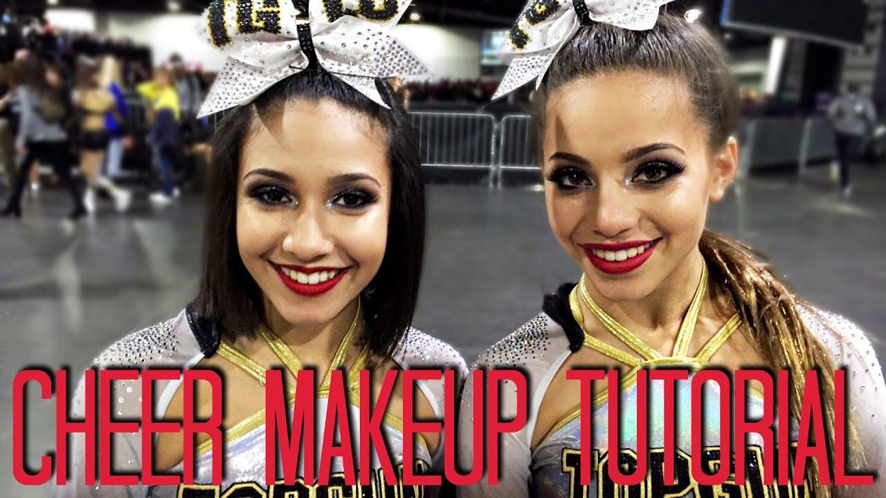 Tglc cheer makeup tutorial rodrigo germanotta youtube baditri Image collections