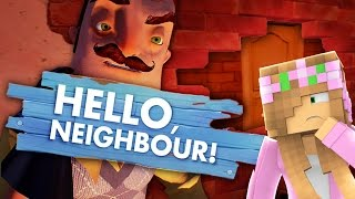 Hello Neighbour : LITTLE KELLY SNEAKS INTO HER NEIGHBOURS HOUSE!