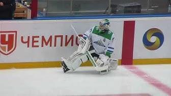 Juha Metsola pre game warm up