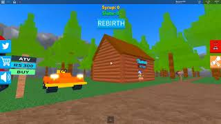 chặc gỗ kiếm tiền (lumber simulator 2 )