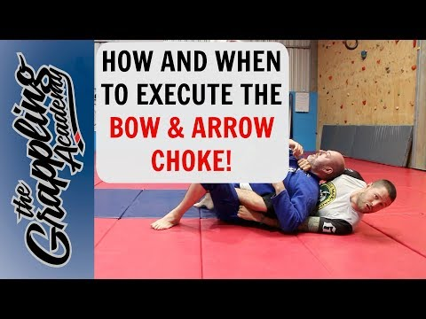 How and When To Execute The Perfect Bow And Arrow Choke!