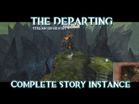 Guild Wars 2: Path of Fire - The Departing | Complete story instance | Domain of the lost |
