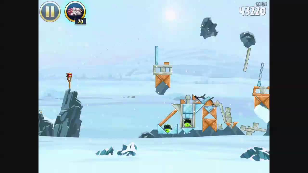 Angry Birds Star Wars 2 - Escape to Tatooine 3 star ...