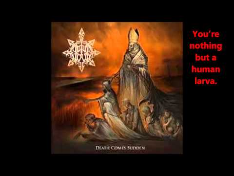 Odium Nova - Human Larva (Lyrics)