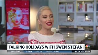 Gwen Stefani Interview with WTHR, November 27, 2017
