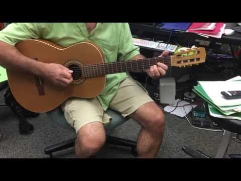 Molokai Sweet Home guitar sus chord and end