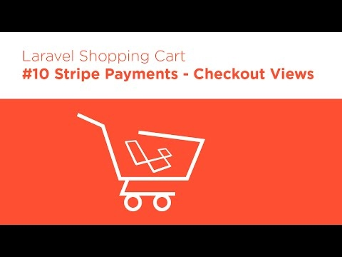 [Programming Tutorials] Laravel 5.2 PHP - Build a Shopping Cart - #10 Stripe Payments View