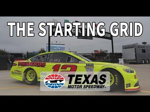 The Starting Grid: Texas Motor Speedway