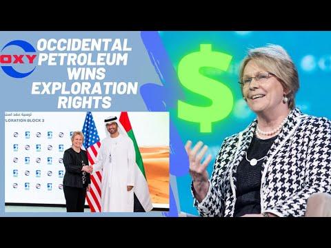Occidental Petroleum WINS Abu Dhabi Exploration rights (35 year Partnership)